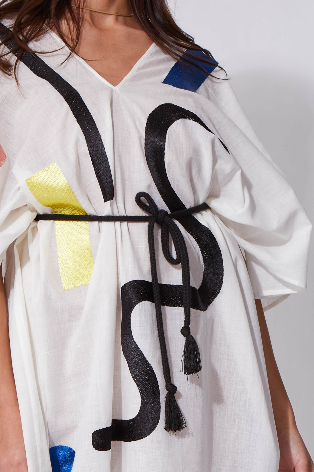 Onde White Dress