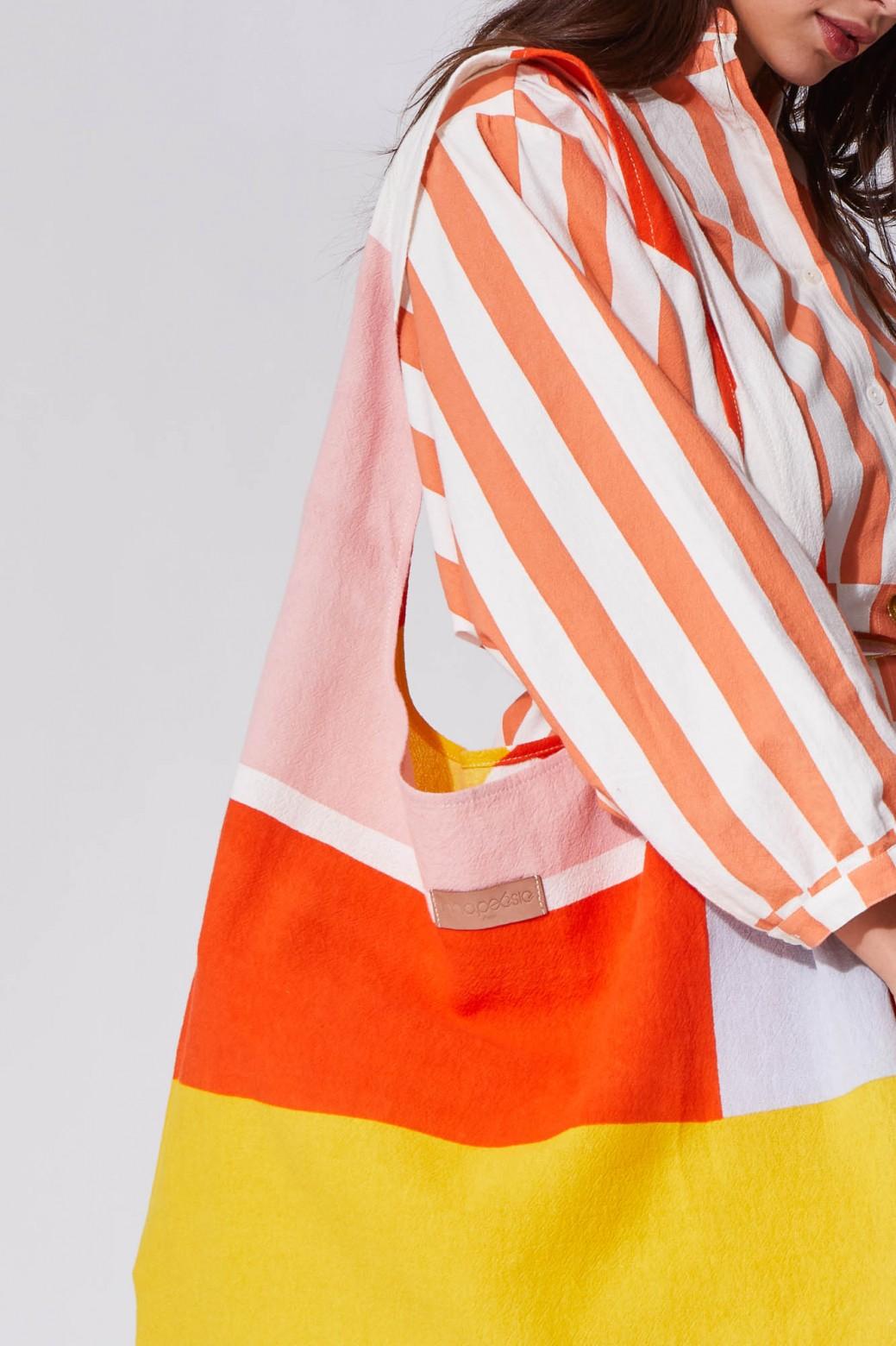 Vision Orange Flat Bag L