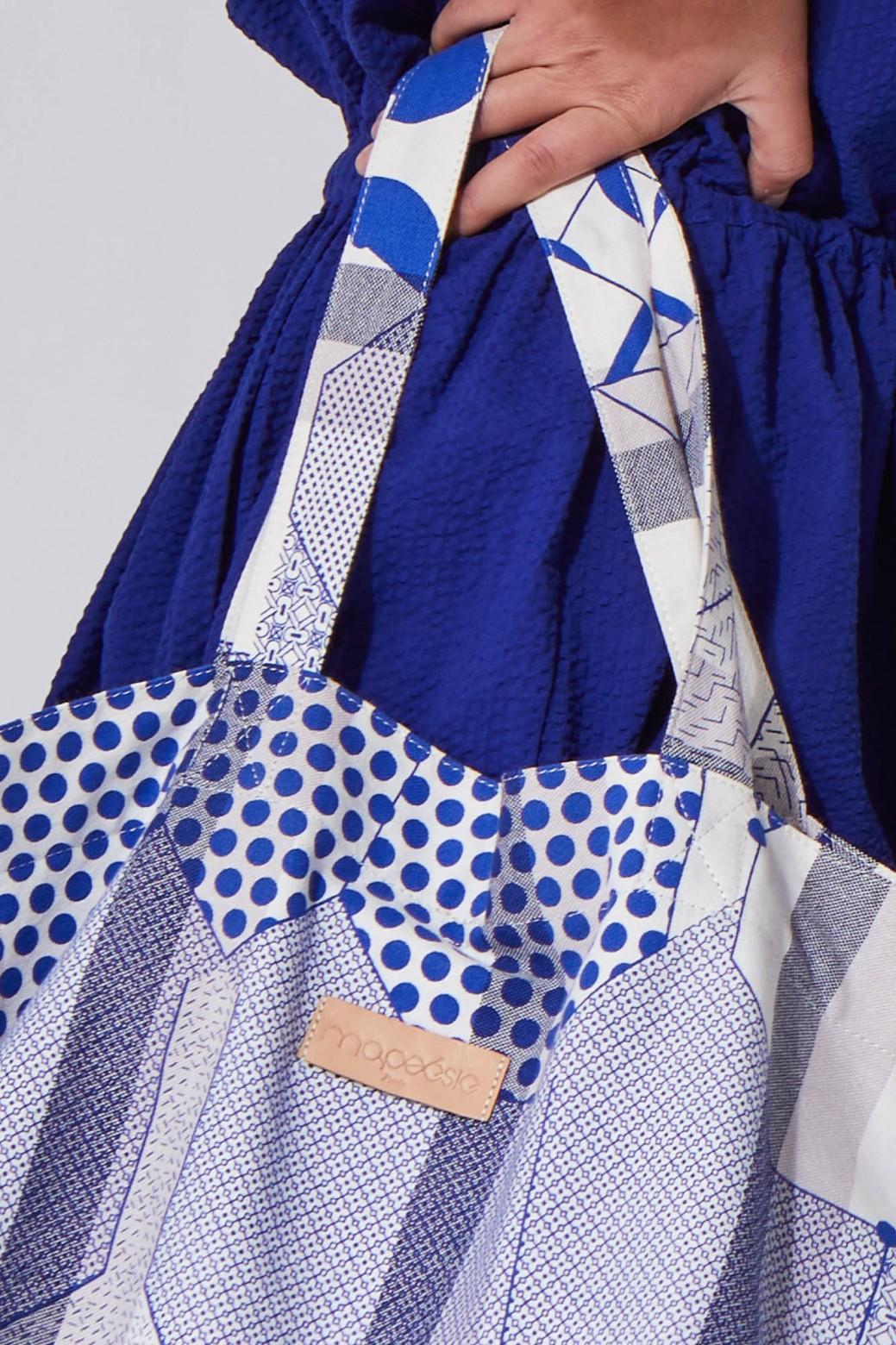 Miroir Blue Soft Bag