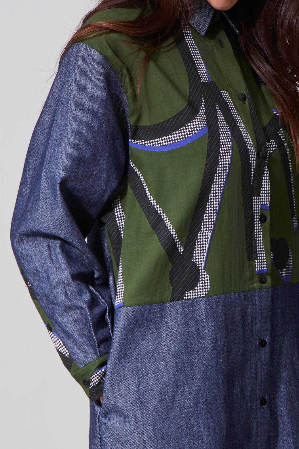 Robe Amira Mousse Bleu