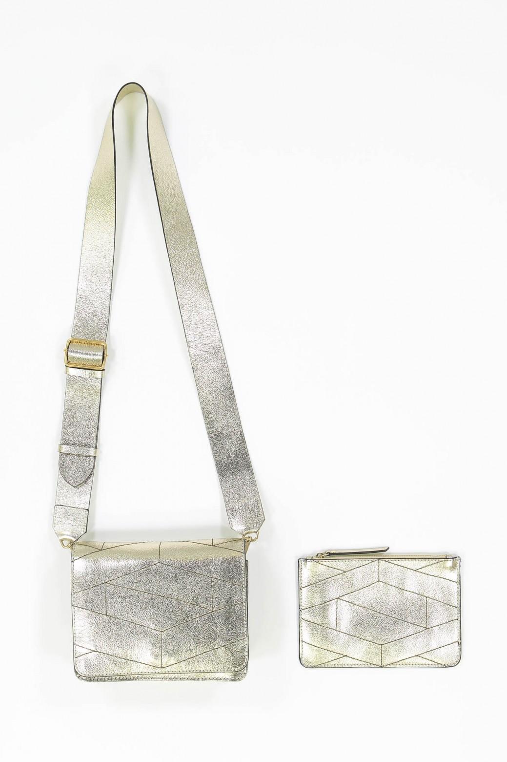 LEONI GOLD BAG