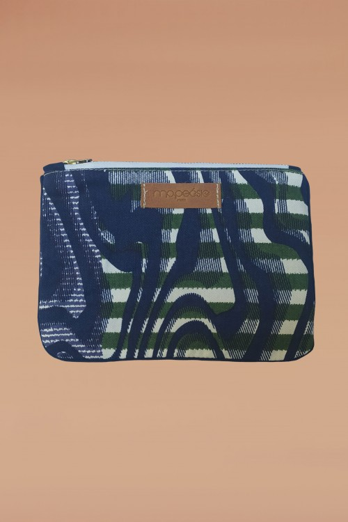 Blue Marquise Pouch S -...